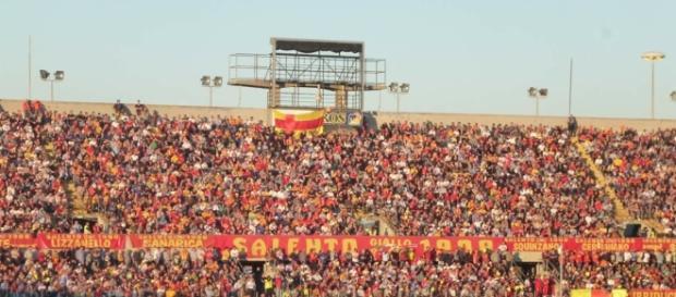 Il Lecce sarà seguito da tanti tifosi.