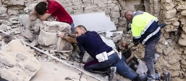 Imaginea dezastrului după cutremurul din Italia