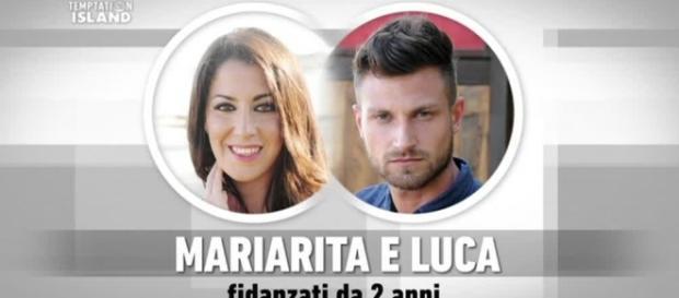 Mariarita e Luca ospiti della prima puntata di Uomini e Donne