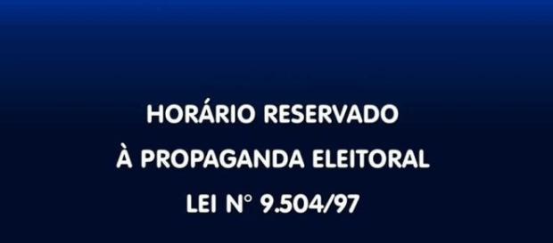 O horário político será veiculado até o dia 29 de setembro. Onde houver segundo turno, a propaganda vai ao ar entre os dias 15 e 28 de outubro.