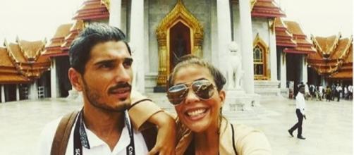 O casal vai publicando algumas fotografias nas redes sociais