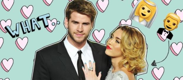 Er, are Miley Cyrus and Liam Hemsworth already married? - sugarscape.com