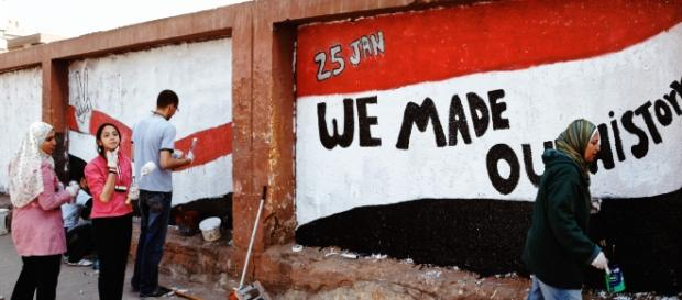 We made our history - Le Caire, Février 2011