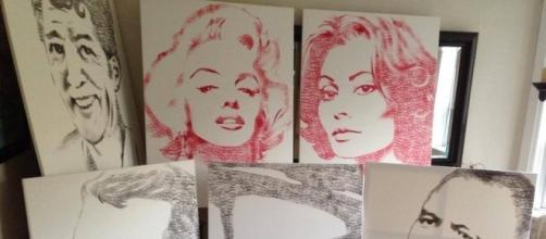 Artist creates stunning artwork just with lipstick and a lot of kisses - dramafever.com