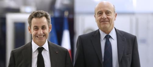 Nicolas Sarkozy et Alain Juppe