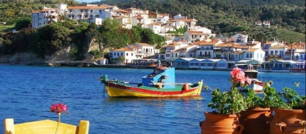 A linda Ilha de Samos na Grécia