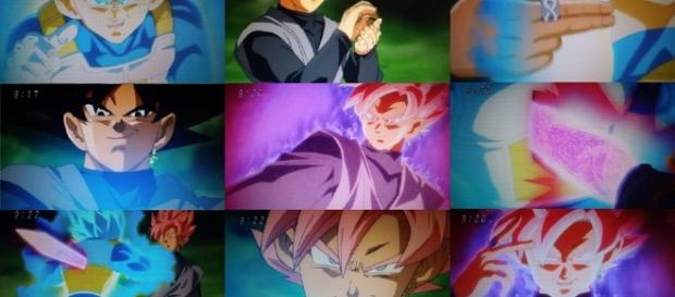black rose versus vegeta dragon ball super