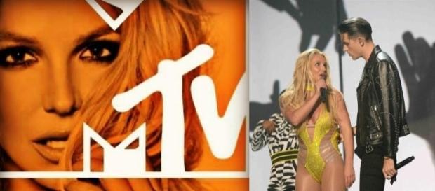 #BritneySpears e #GEazy eseguono #MakeMe: è la performance più seguita dei #VMAs. #BlastingNews