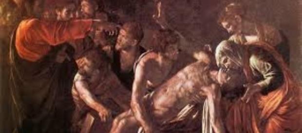 """Caravaggio's """"Raising of Lazarus"""" jeffangiegoh.com Creative Commons"""