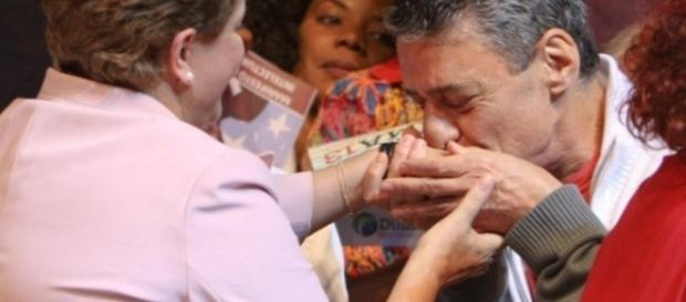 Dilma e Chico Buarque - Foto/Reprodução