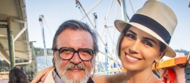 Luís Melo e Giovanna Antonelli serão pai e filha na nova novela das seis da Globo