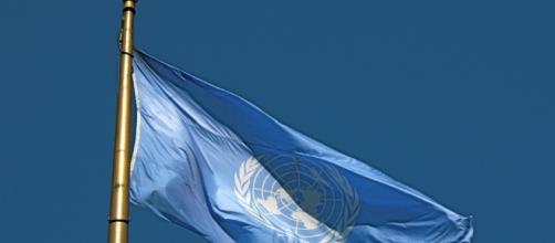 Bandiera blu delle Nazioni Unite
