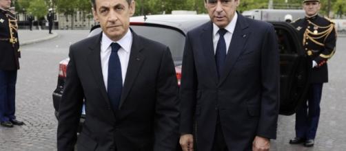 Francois Fillon Nicolas Sarkozy