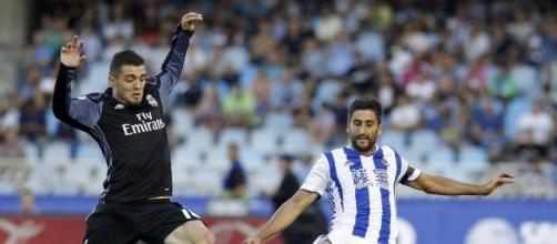 Kovacic con la maglia del Real Madrid.