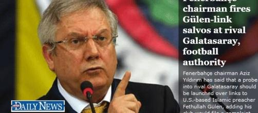 Le président du club Fenerbahçe accuse le Galatasaray d'être infiltré par le Fetö