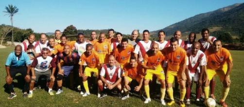 Os veteranos fizeram excelentes jogadas durante o campeonato em Cachoeira de Macacu e levaram a melhor