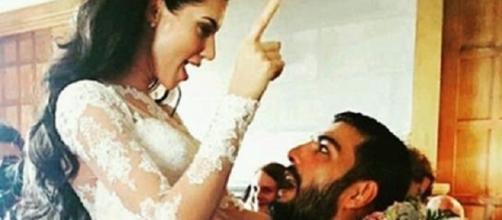 Parvesh Rana weds Scarlett Wilson (Youtube screengrab)