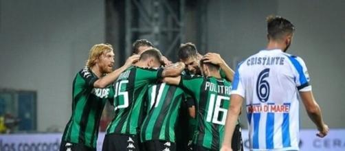 Sassuolo-Pescara 2-1 | Il Delfino domina ma le prende, Di ... - ilpescara.it