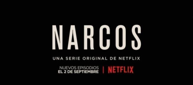 Cartel promocional de la segunda temporada de Narcos