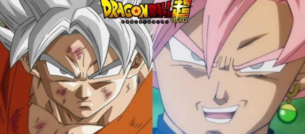 Goku con su nueva transformacion