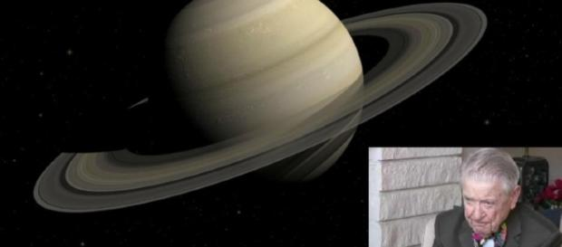 Imagem dos anéis de Saturno utilizados para reabastecer as naves extraterrestres.