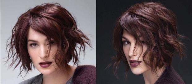 Colore taglio di capelli