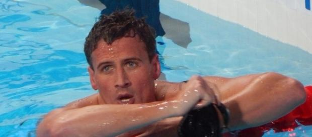 Ryan Lochte, before the bleached-blonde hairdo and Rio scandal. Photo c/o Wikimedia Commons