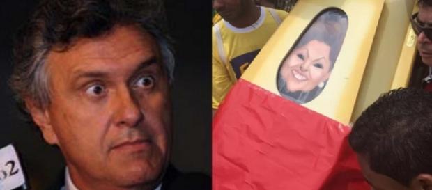Senador Ronaldo Caiado falta enterro
