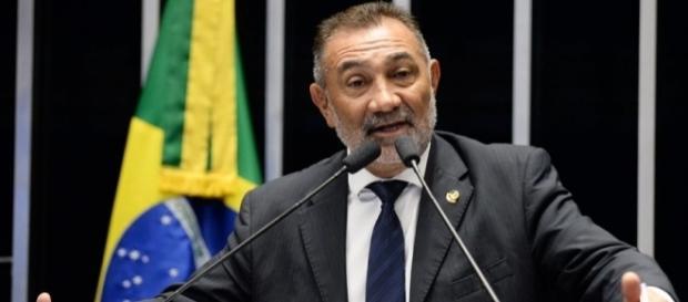 Traição do PT pode ter feito Telmário mudar voto (Foto: Reprodução/Senado)