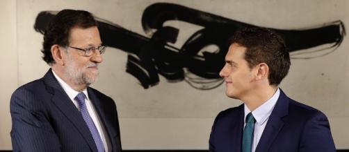 Así ha sido la reunión de Mariano Rajoy con Albert Rivera - lavanguardia.com