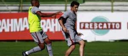Fluminense se prepara para encarar o Internacional no domingo (Foto: Net Flu)