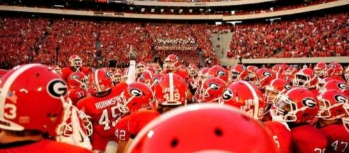 Georgia Bulldogs football - courtesy of Online Athens - onlineathens.com