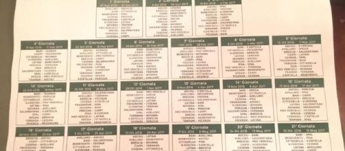 Il calendario completo del torneo di serie B
