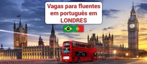 Londres tem dezenas de vagas abertas para quem fala português - Foto: Reprodução Viva-mundo