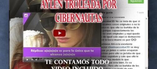 Los dichos a Aylén y su ciber troleada