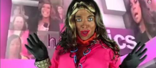 Screenshot of Shane Dawson in blackface, via YouTube