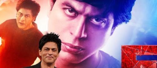 Superstar: Shah Rukh Khan promoting FAN. / Photo screencap via YouTube.