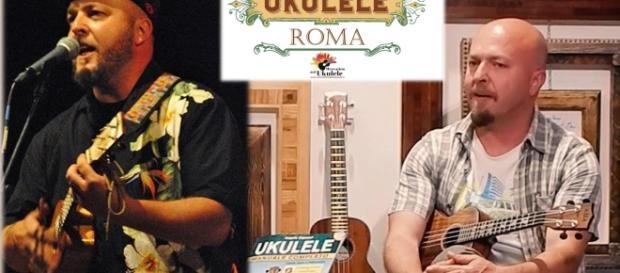 Angelo Capozzi il musicista di Ukulele