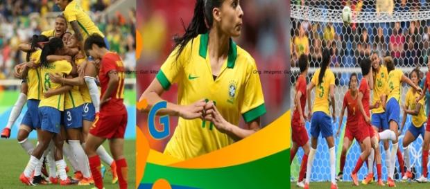 Brasil venceu por 3x0 (Fotos: CBF e Época)