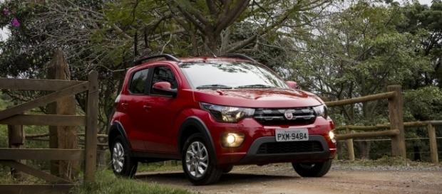 Fiat Mobi, que registrou alta de 25% no mês passado com a chegada da versão Way; segmento de entrada voltou a crescer