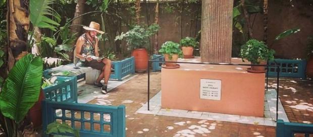 il Memorial di Yves Saint Laurent all'interno del giardini Majorelle.