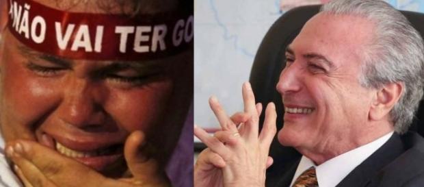 Michel Temer e seu governo prendem sem-terra