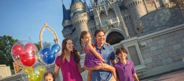 The average American family is featured in most Disney ads. Photo courtesy of undercovertourist.com
