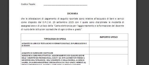 Come rendicontare i 500 € del bonus 2015/16: il modello A e i controlli del Ministero.