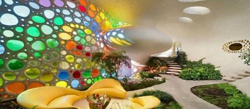 MXCity - mxcity.mx Imagen del interior de Nautilus, obra del arquitecto Senosiain