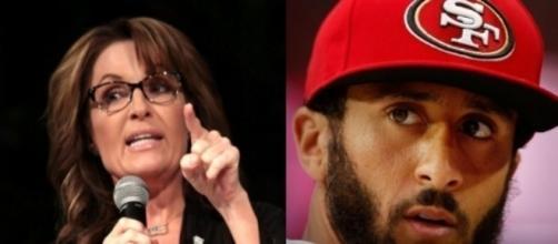 Sarah Palin, Colin Kaepernick, via Twitter