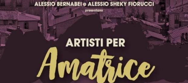 Artisti per Amatrice- locandina evento
