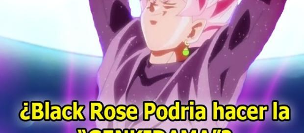 """Black Rose trataría de hacer la """"Genkidama contra Vegeta y Goku"""