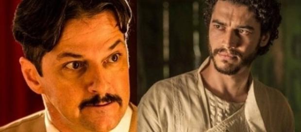 Carlos mata Martim em 'Velho Chico' (Divulgação Globo)