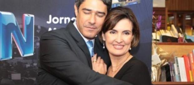 Chega ao fim o casamento de Fátima Bernardes e William Bonner